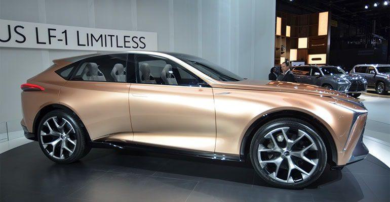 Lexus LF-1 вид сбоку