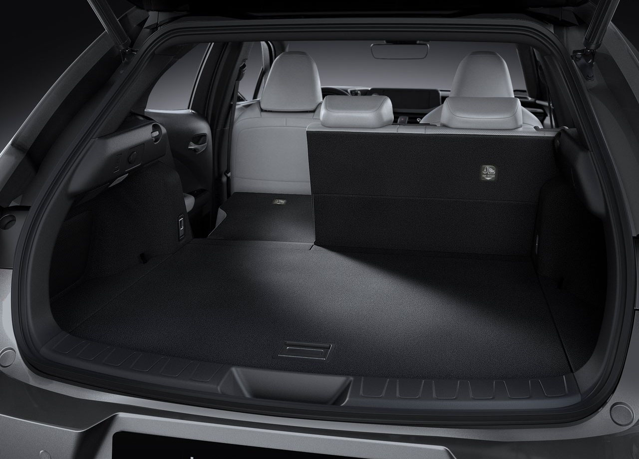 Lexus UX багажник