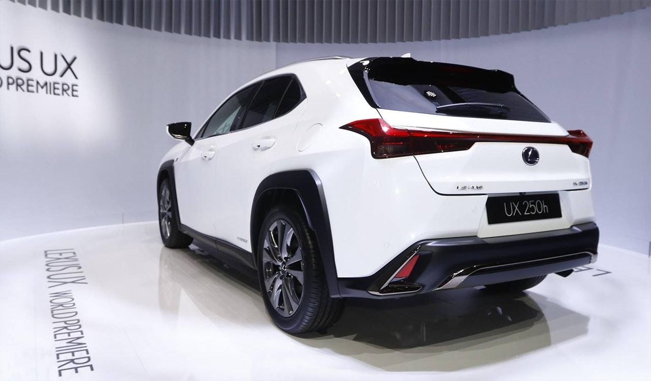 Lexus UX фото сзади