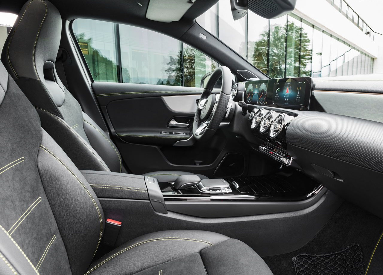 Mercedes-Benz A-Class передние сидения
