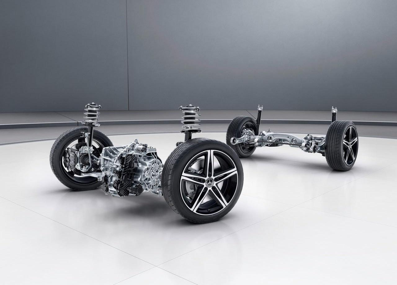 Mercedes-Benz A-Class подвеска