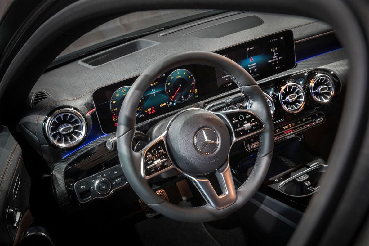 Mercedes-Benz A-Class руль