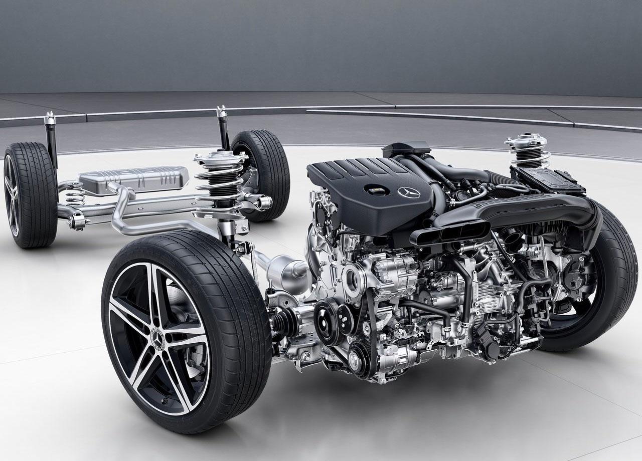 Mercedes-Benz A-Class шасси