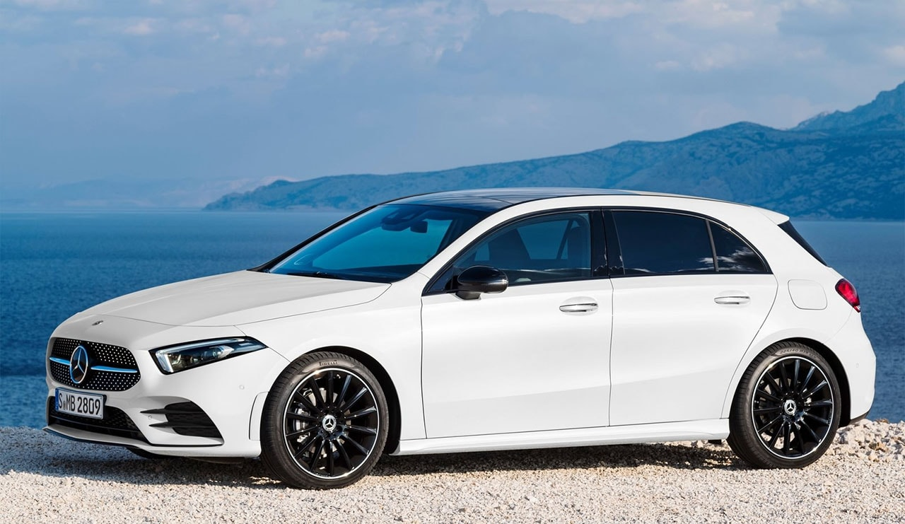 Mercedes-Benz A-Class вид сбоку