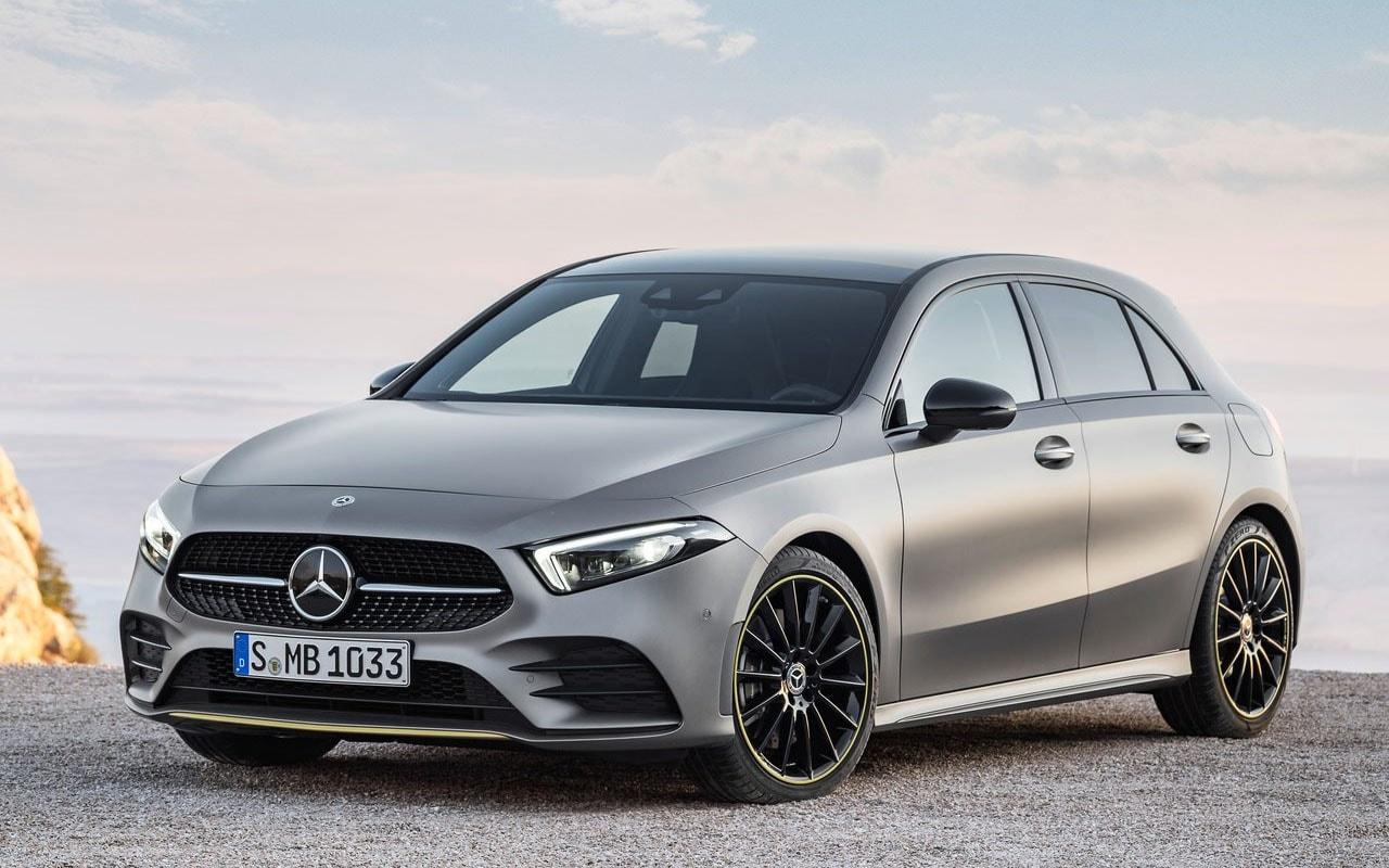 Mercedes-Benz A-Class вид спереди