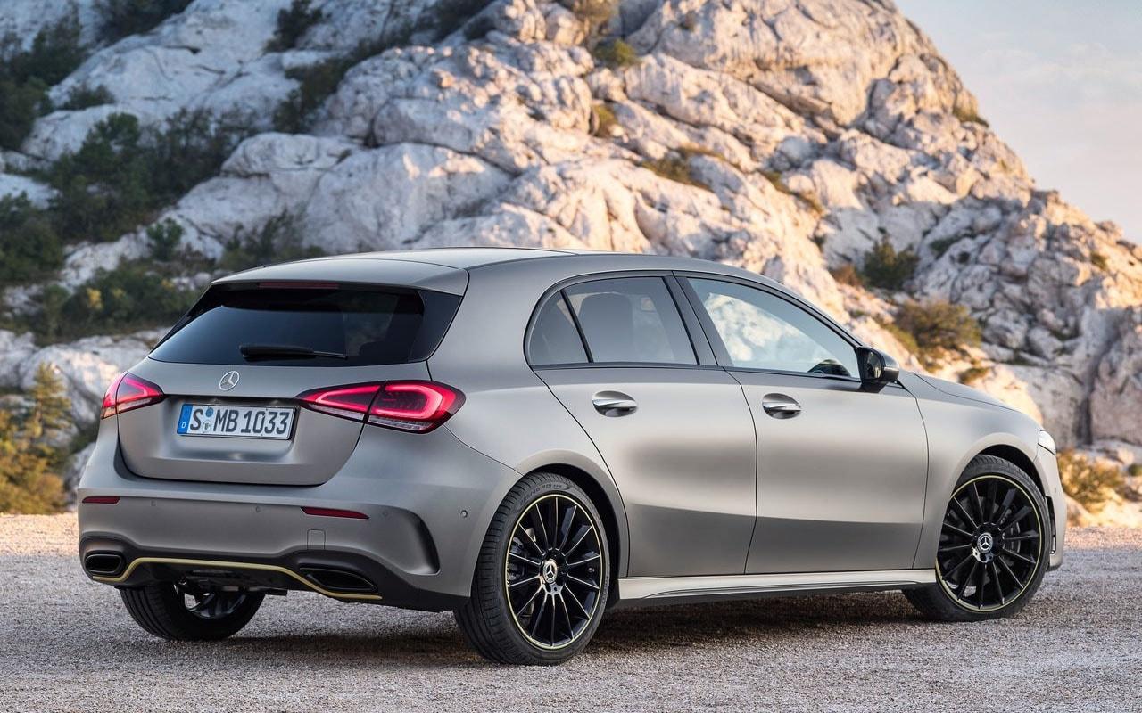 Mercedes-Benz A-Class вид сзади