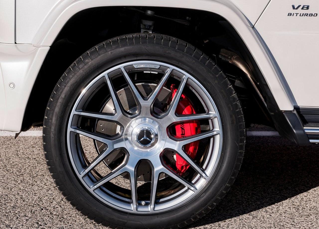 Mercedes G63 AMG колёса