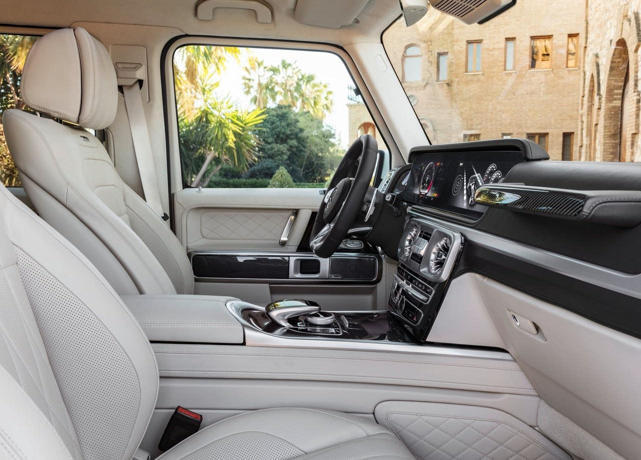Mercedes G63 AMG передние сидения