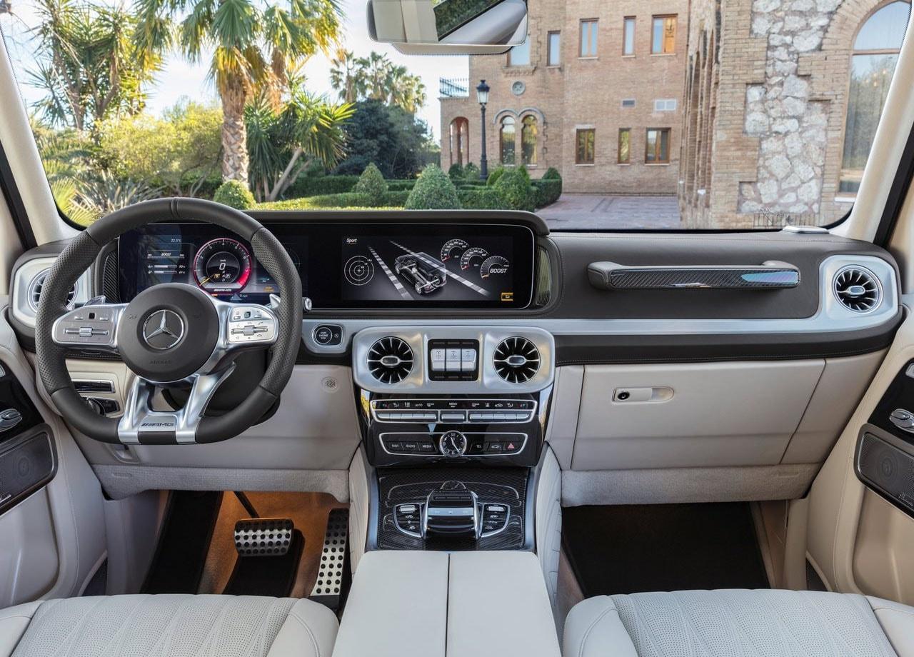 Mercedes G63 AMG салон