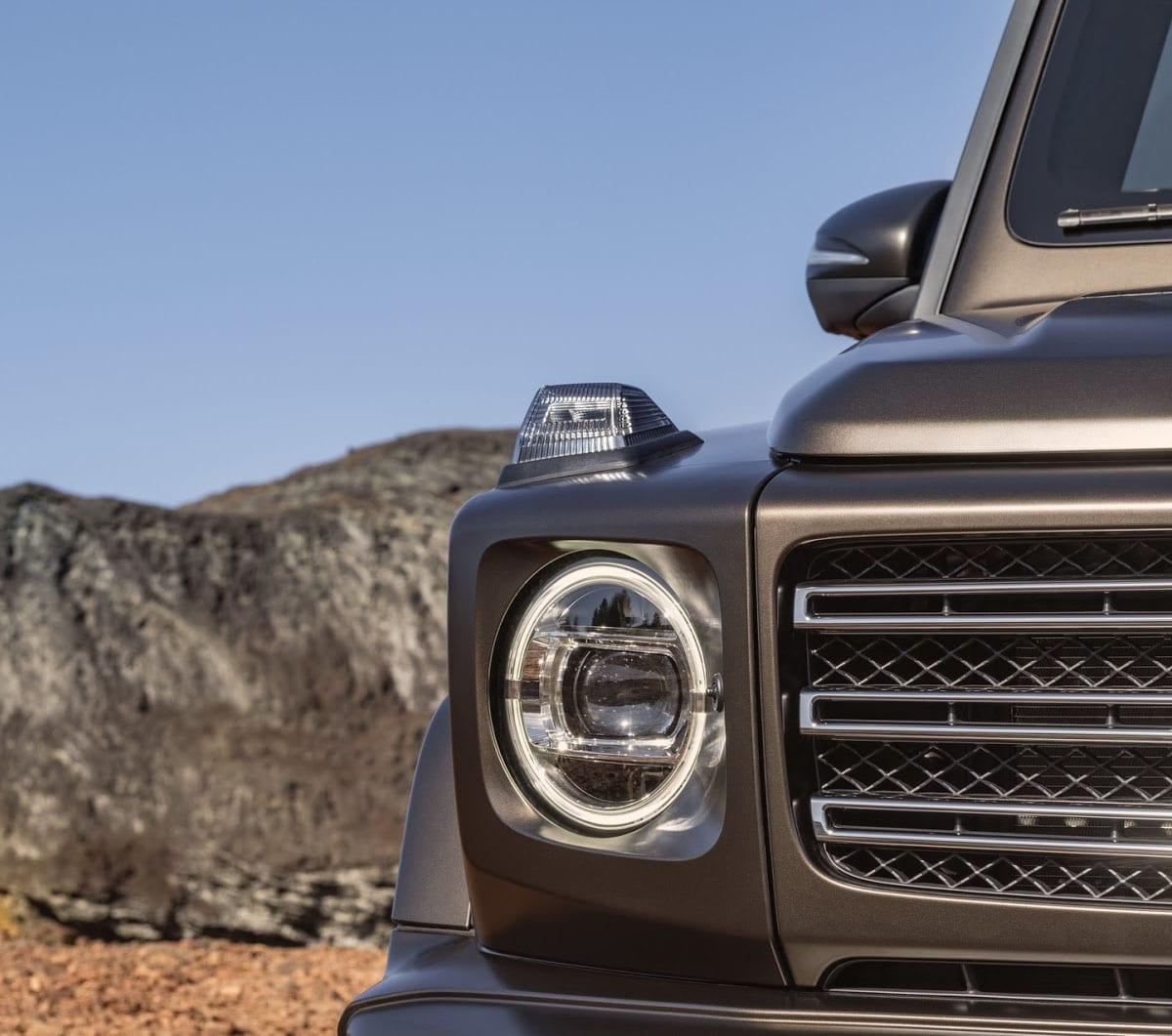 Mercedes Gelandewagen фары
