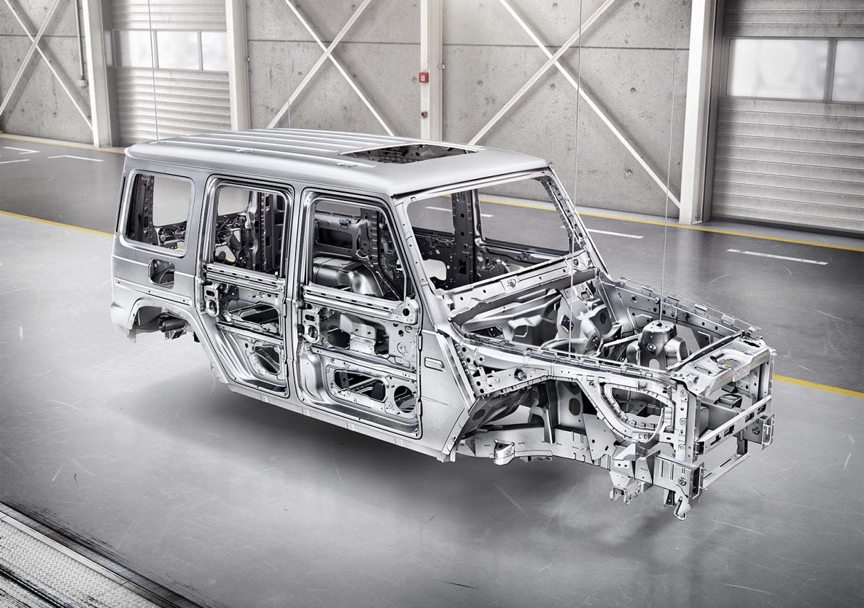 Mercedes Gelandewagen кузов
