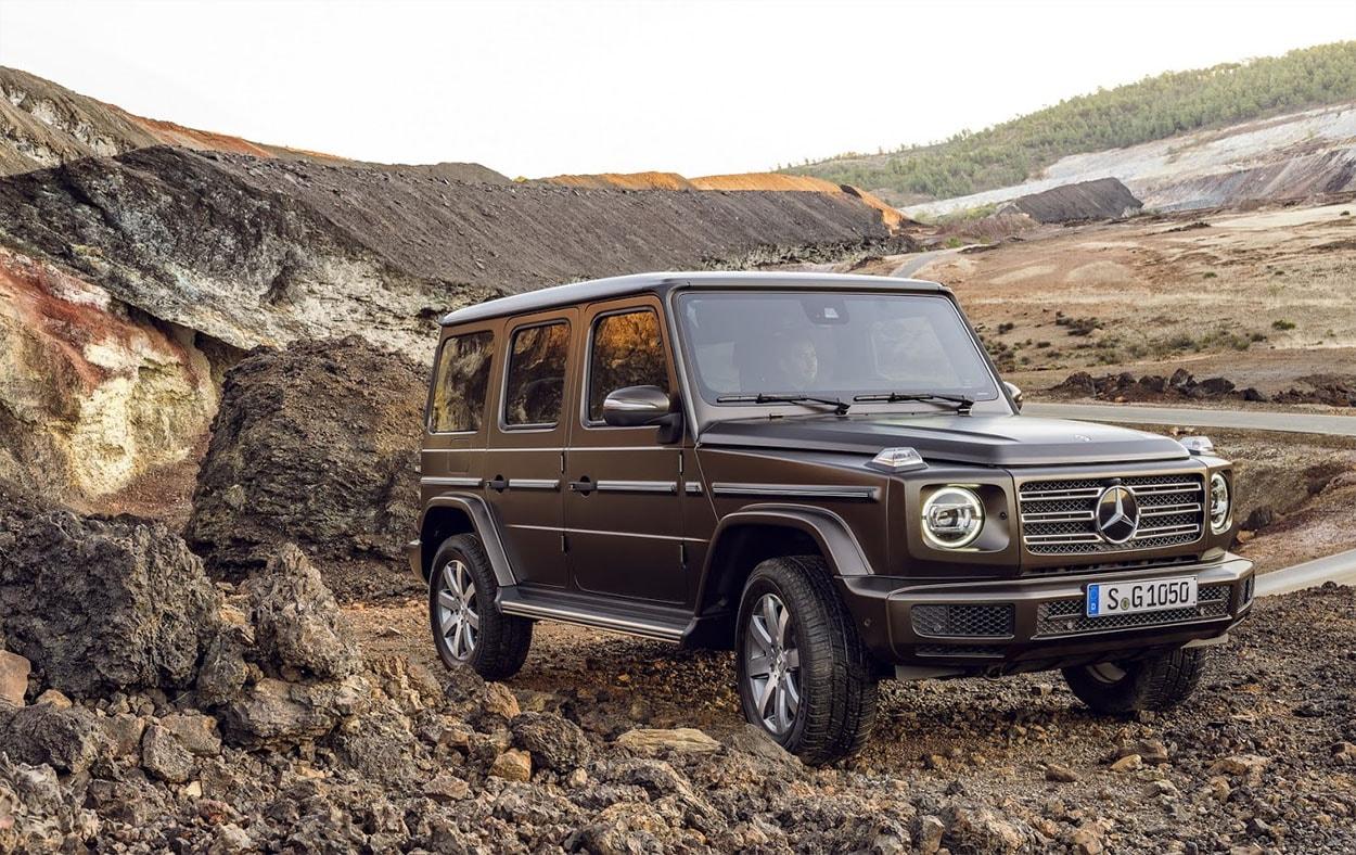Mercedes Gelandewagen новый