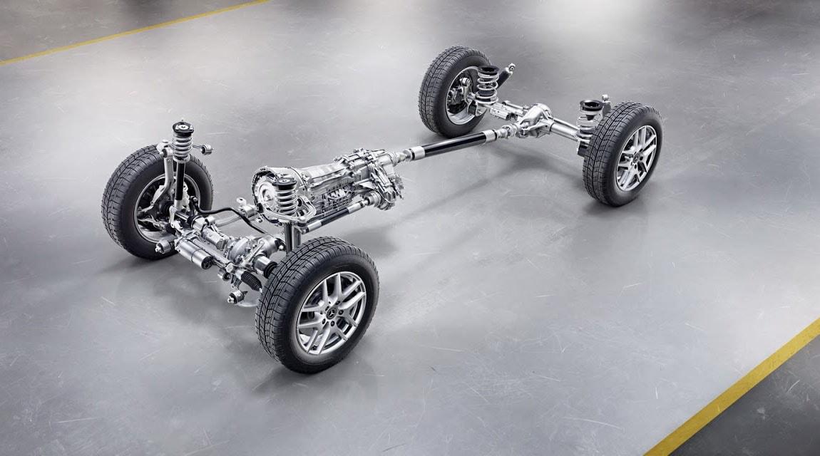 Mercedes Gelandewagen шасси