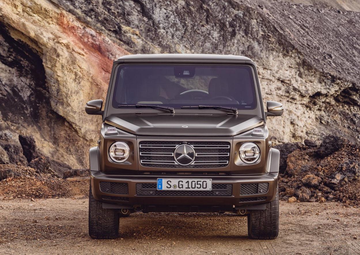 Mercedes Gelandewagen спереди