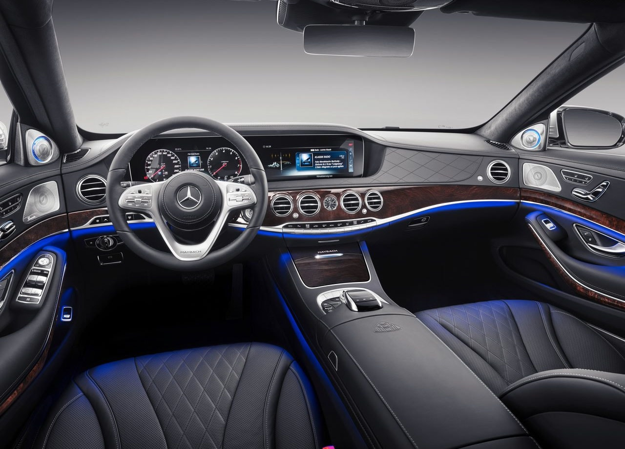 Mercedes Maybach S фото салон