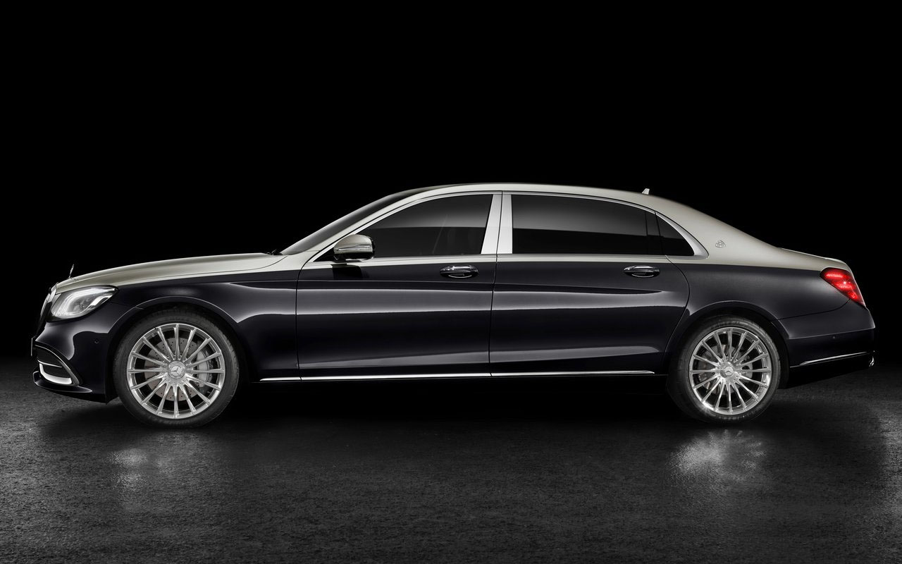 Mercedes Maybach S фото сбоку