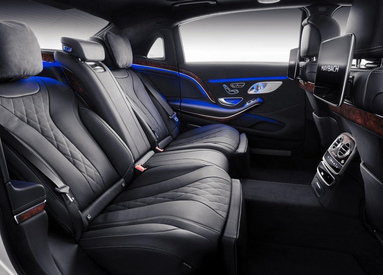 Mercedes Maybach S задние сидения