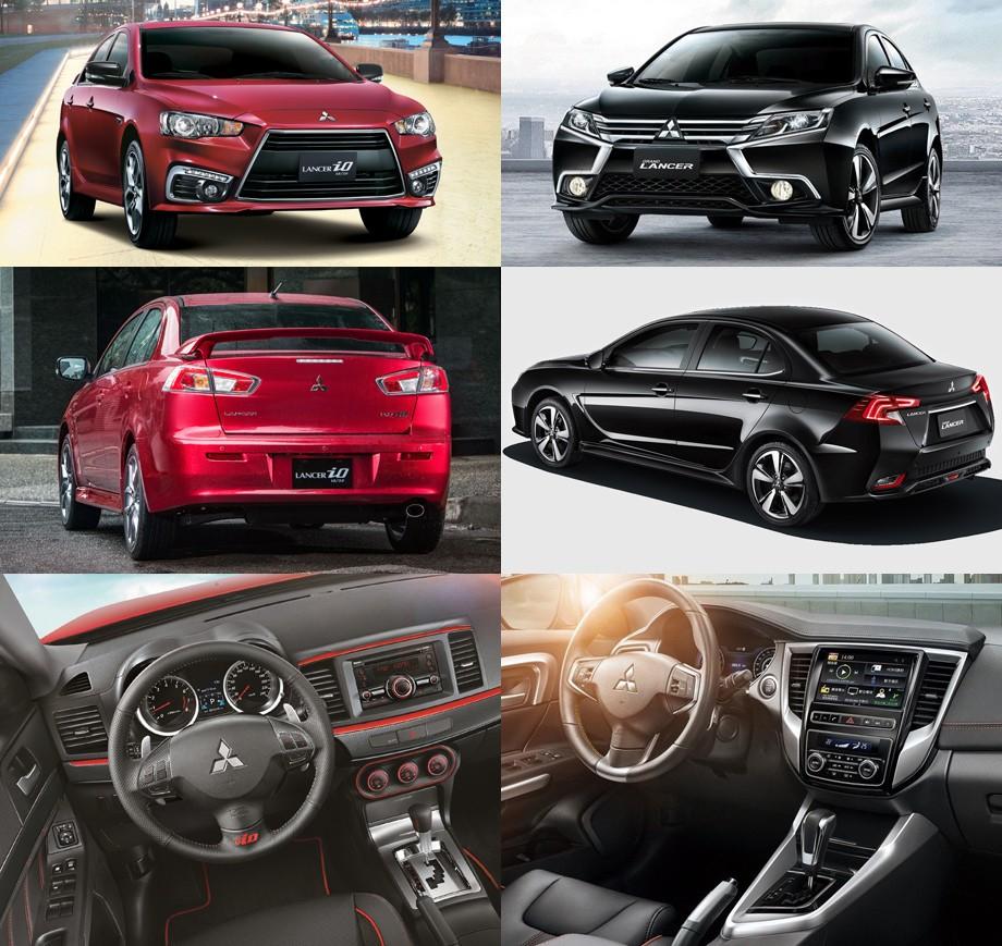 Mitsubishi Grand Lancer 2017 до и после
