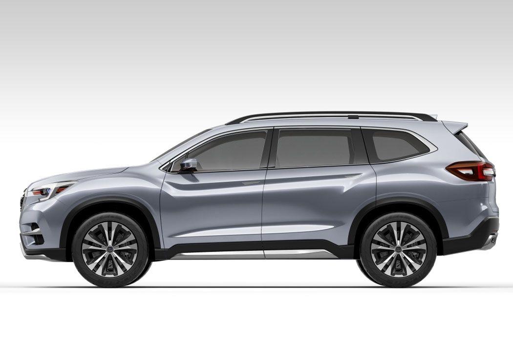 Новый Subaru Ascent фото сбоку