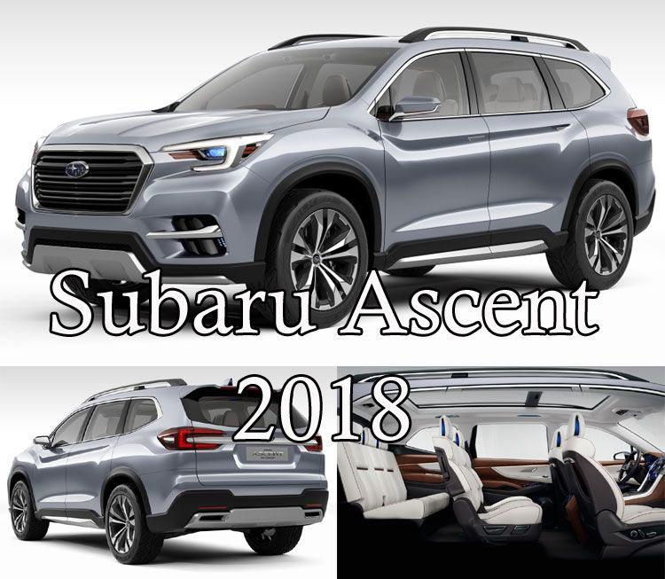 Новый Subaru Ascent 2018