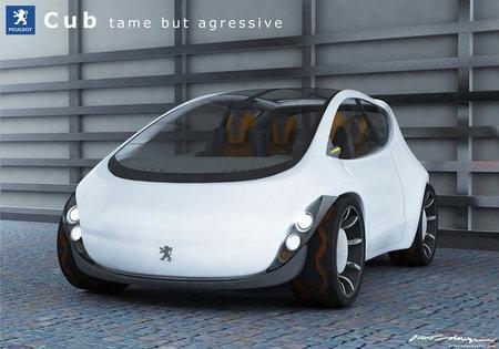 концепткар Peugeot Ozone