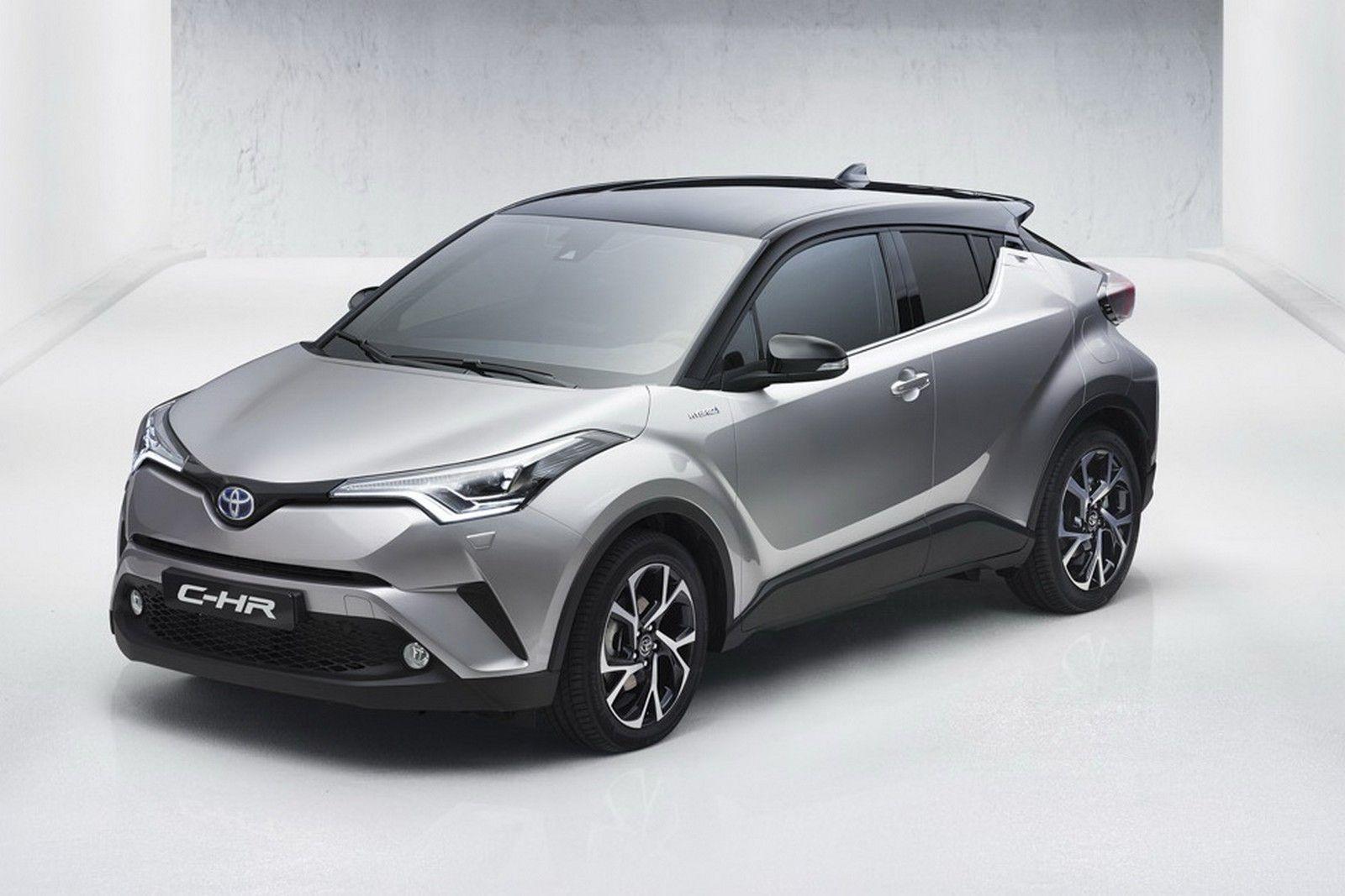 Toyota C-HR Concept фото сверху