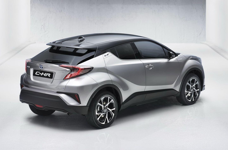 Toyota C-HR Concept фото сзади
