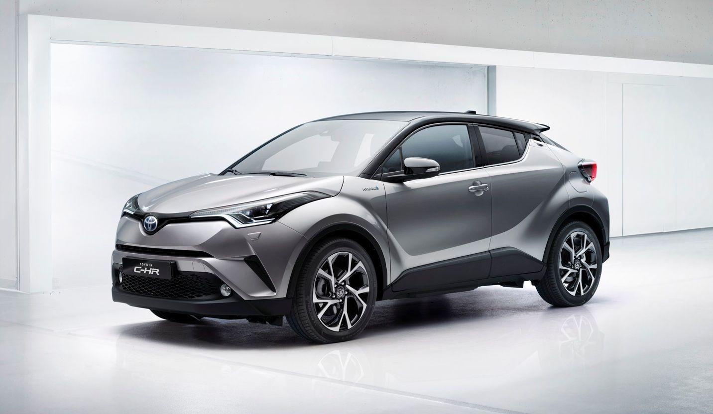Toyota C-HR Concept фото