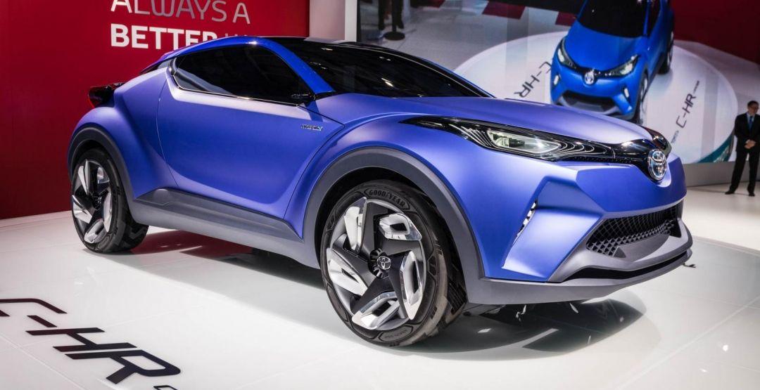 Toyota C-HR Concept вид сбоку