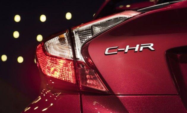 Toyota C-HR детали кузова