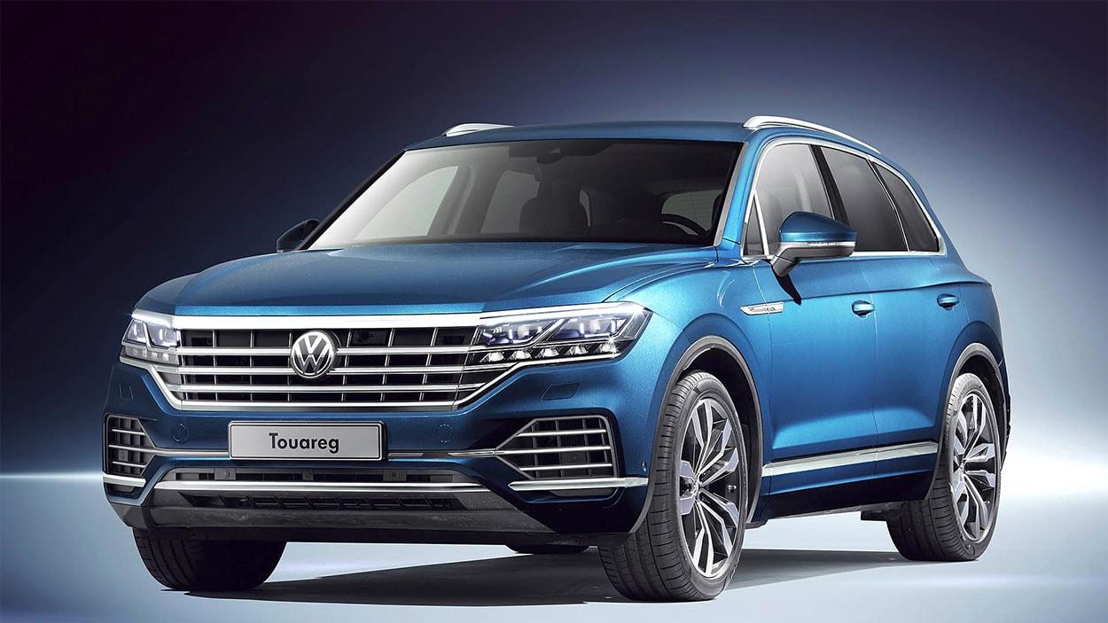 VolkswagenTouareg 3 спереди