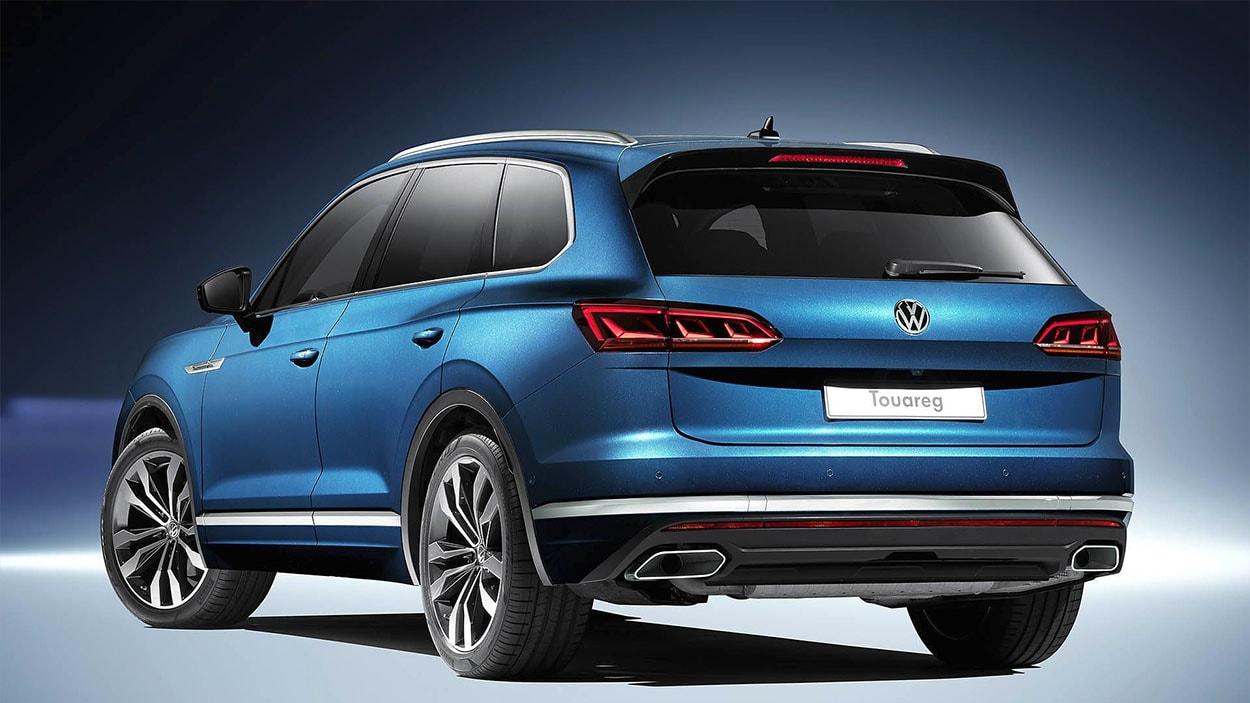 VolkswagenTouareg 3 сзади
