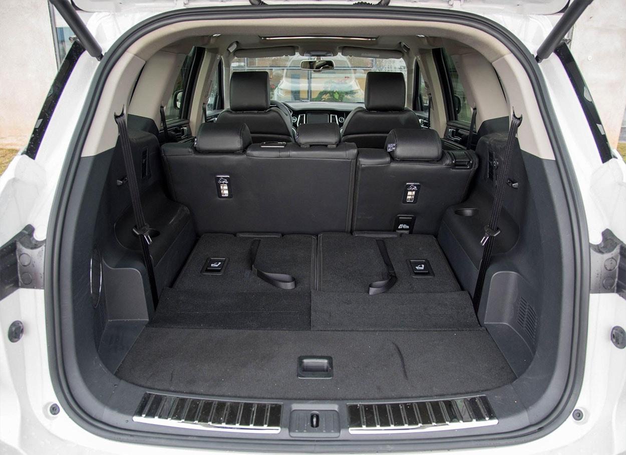 ZotyeT800 багажник 1