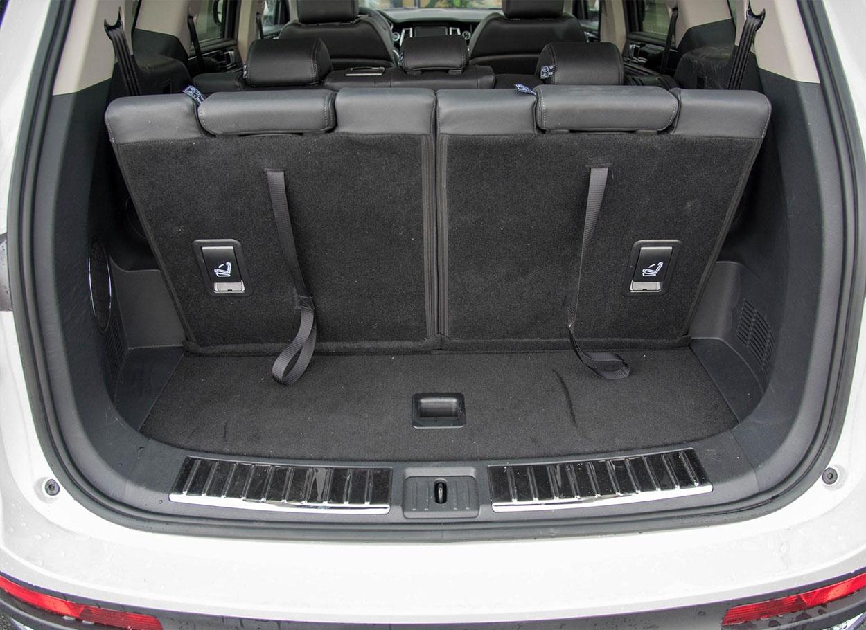 ZotyeT800 багажник