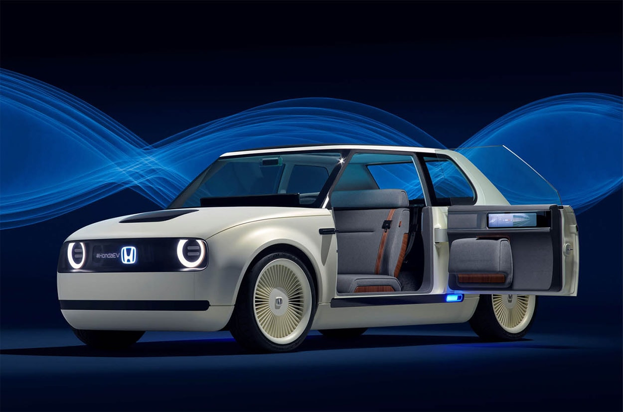 фото Honda Urban EV Concept 2018