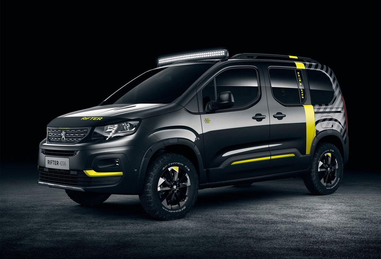 фото Peugeot Rifter 4x4 Concept женевский автосалон 2018
