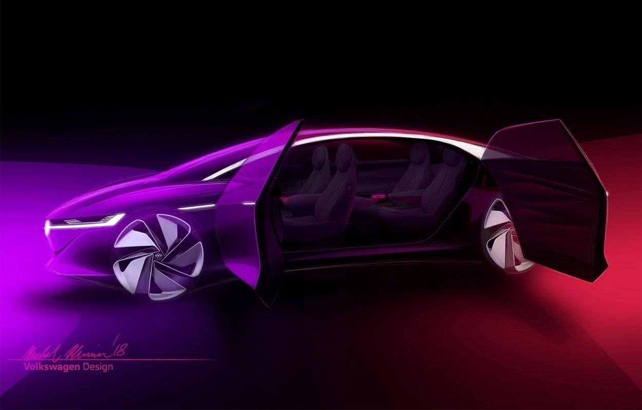 фото VW ID Vizzion Concept женевский автосалон 2018
