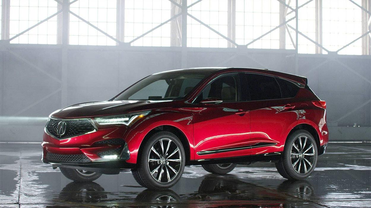 Acura RDX фото вид спереди
