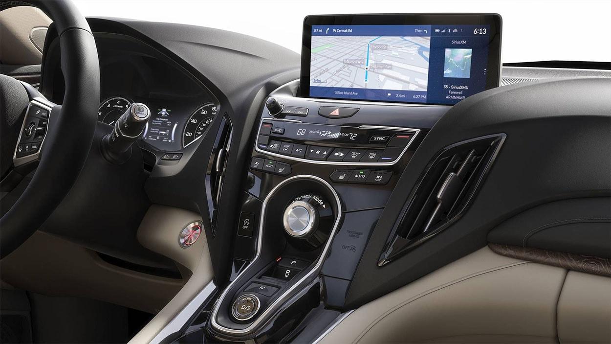 Acura RDX мультимедиа