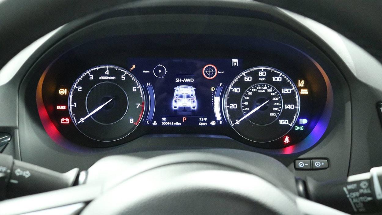 Acura RDX панель приборов