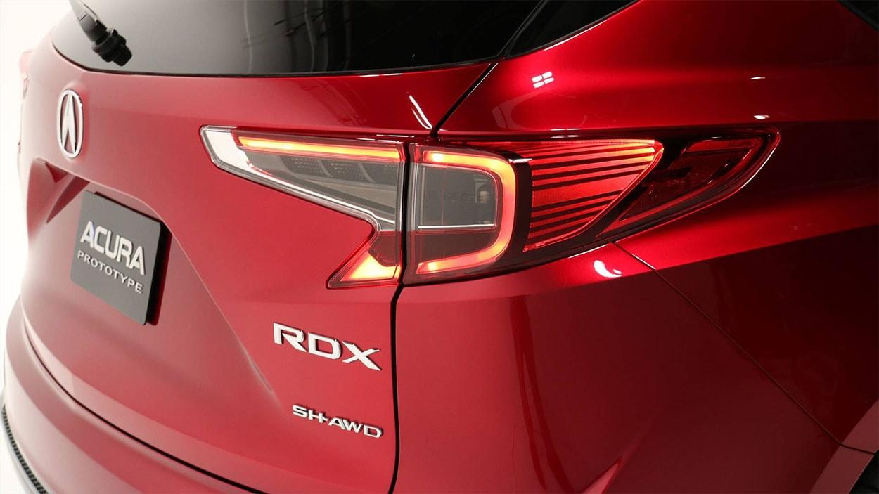Acura RDX задние фонари