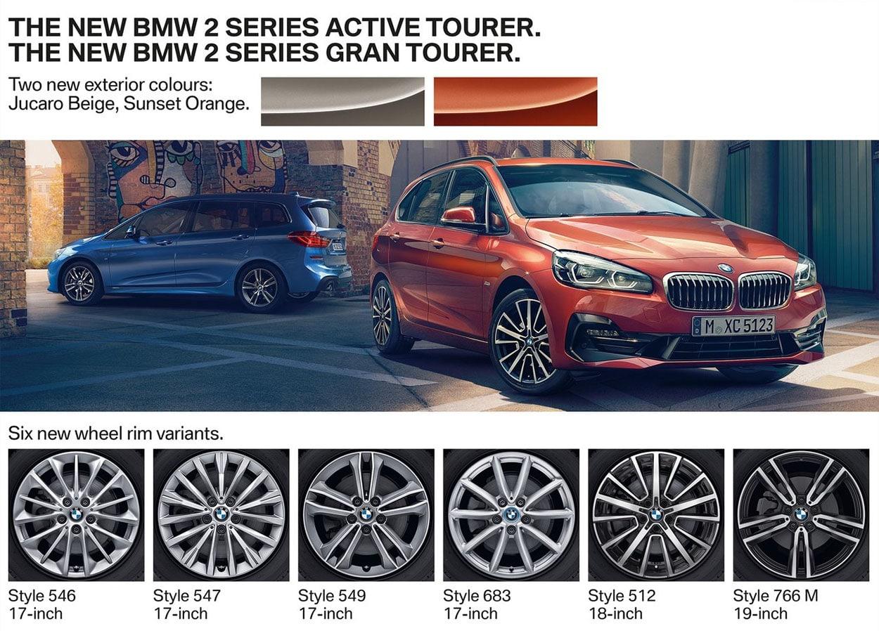 BMW 2-Series Active и Gran Tourer фото дисков