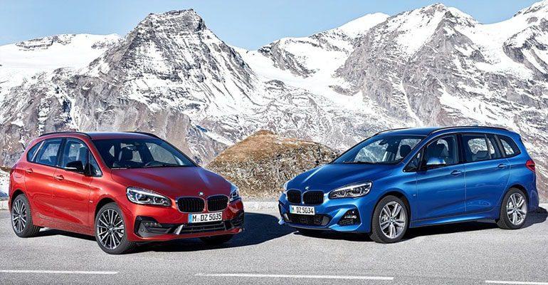 BMW 2-Series Active и Gran Tourer фото общий вид