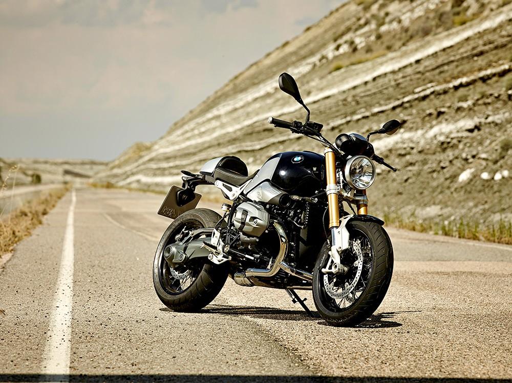BMW R Nine фото вид спереди