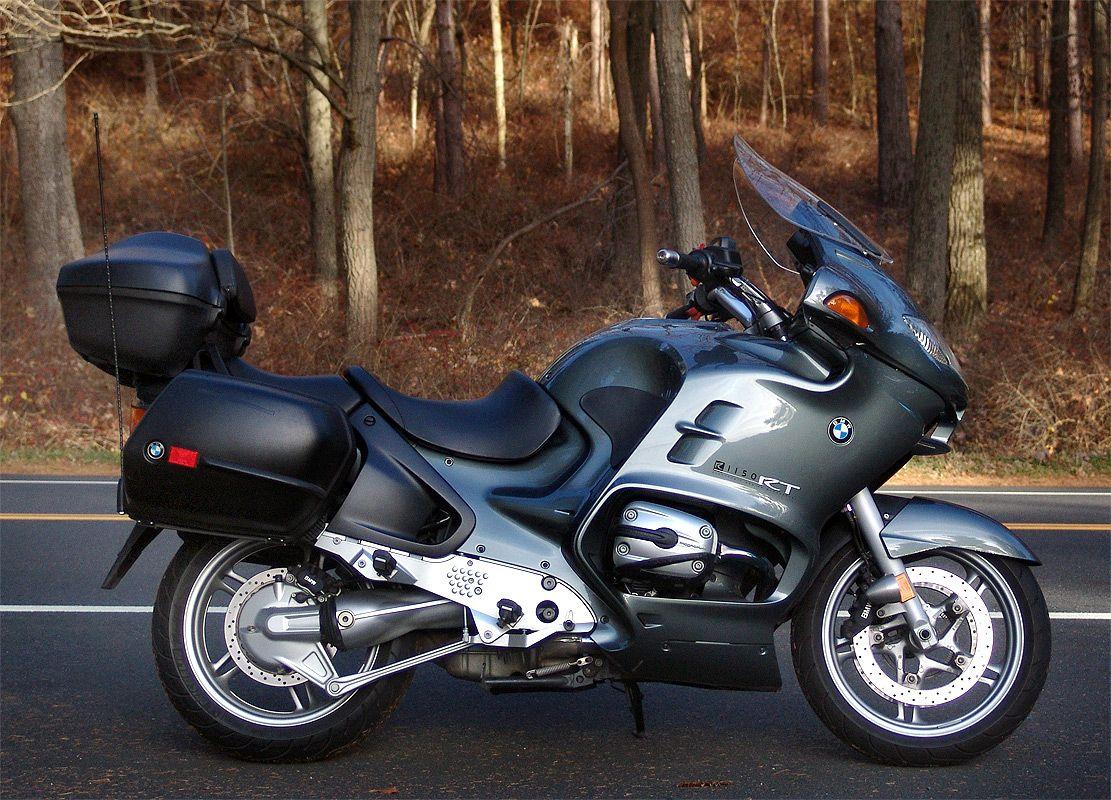 BMW R1150RT вид сбоку