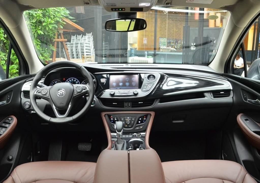 Buick Envision фото вид салона внутри