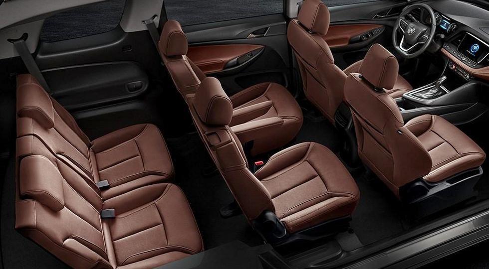 Buick GL6 вид салон