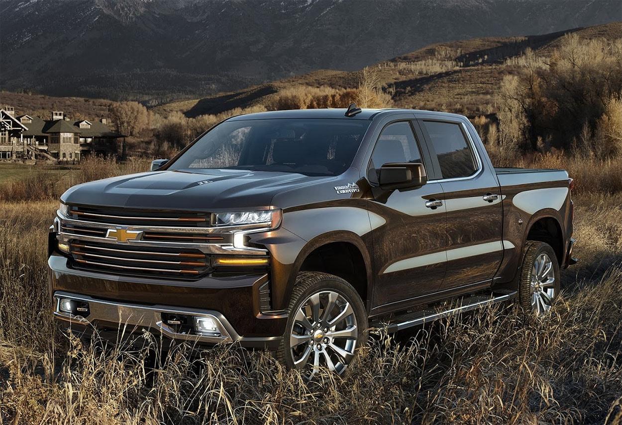 ChevroletSilverado фото спереди