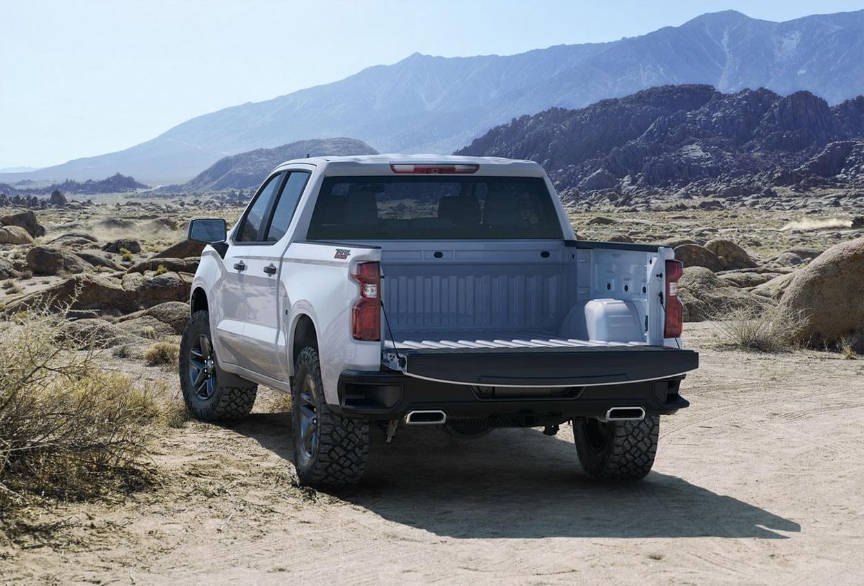 ChevroletSilverado фото сзади