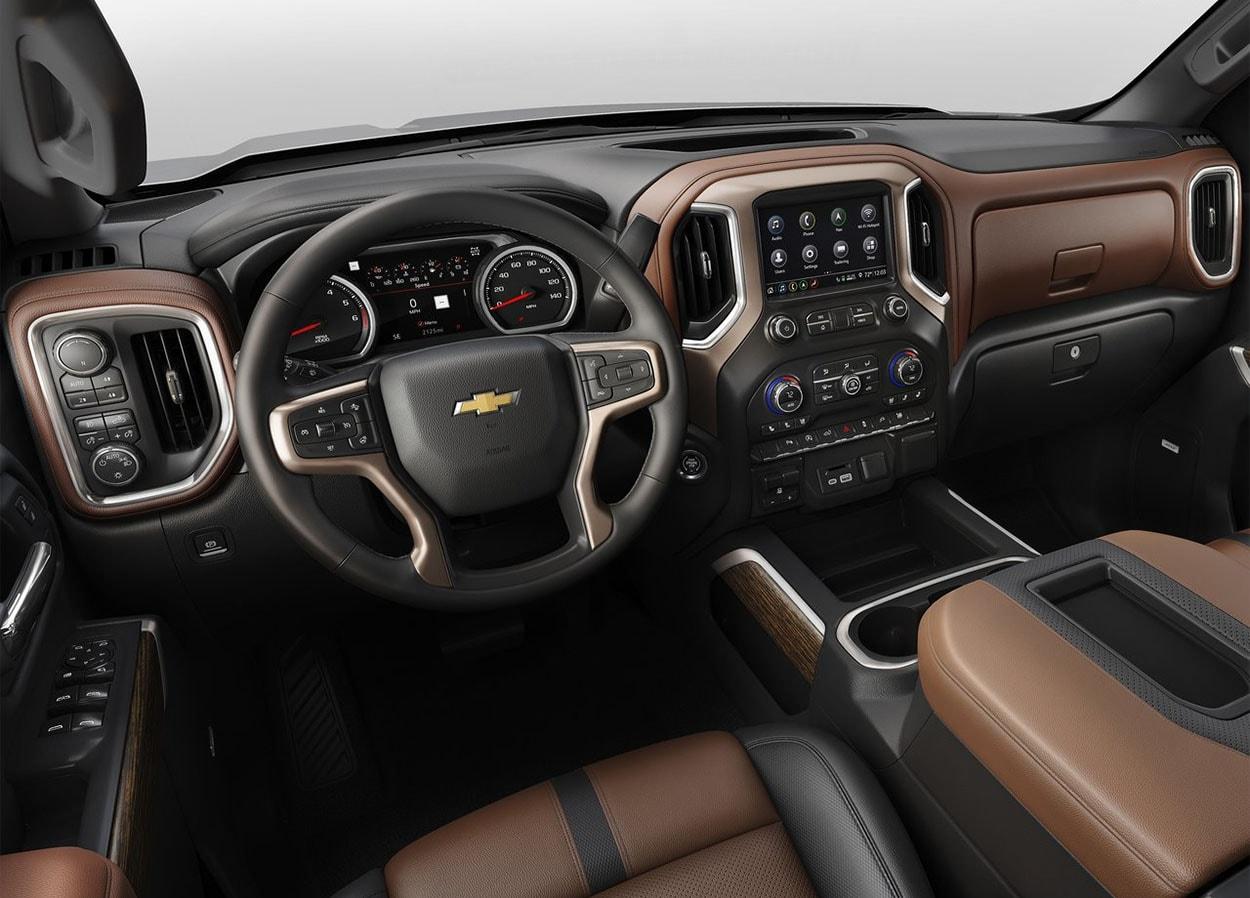 ChevroletSilverado салон